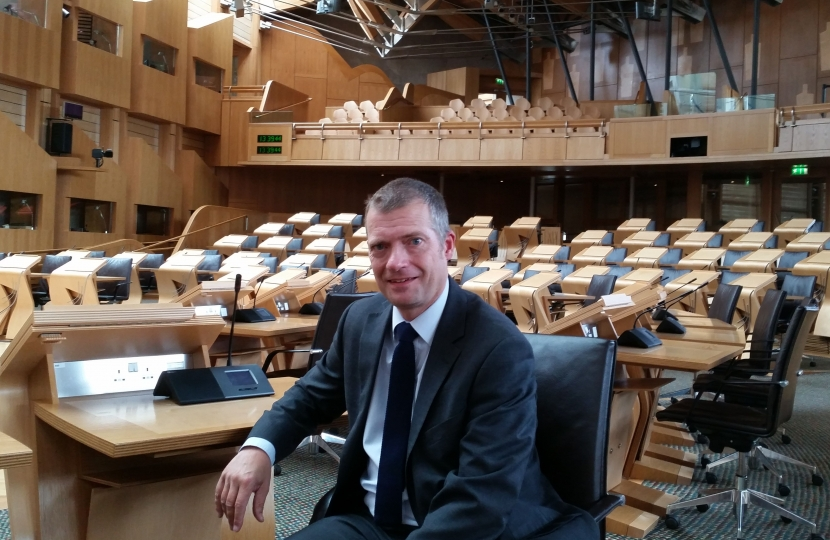 Graham Simpson in the chamber