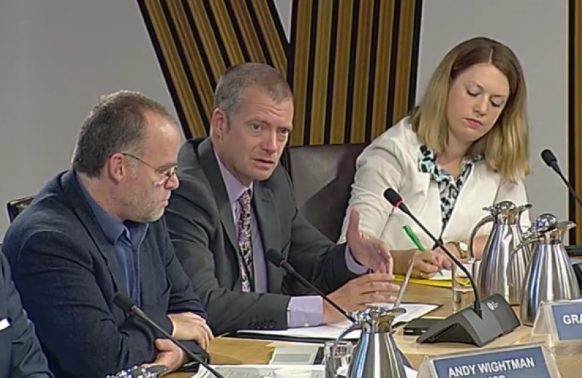 Graham Simpson, Humza Yousaf, Parliament, Blue Badge, disability, MSP