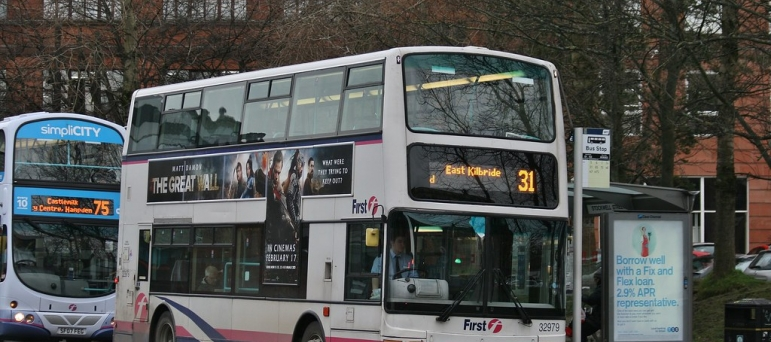 31 bus East Kilbride